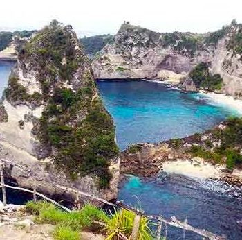 Atuh Cliff, Nusa Penida
